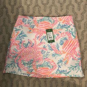 NWT Lily Pulitzer Marigold Skirt 00